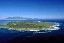 Aerial of Robben Island