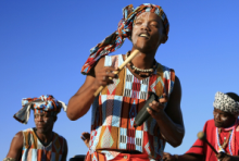 Xhosa locals in the Eastern Cape
