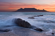 View of Table Mountain in Cape Town