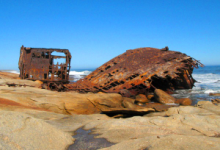 Shipwrecks on the Diamand Coast
