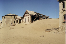 Ghost Mining Town of Kolmanskop.
