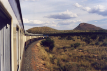 Namibia by train